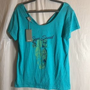 Bench Turquoise T-Shirt size XL BNWT